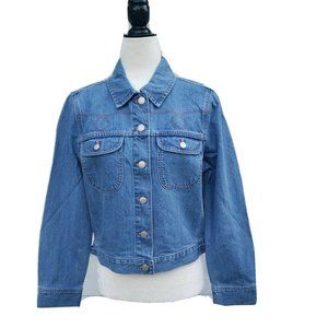 Madewell Women's Crop Denim Jacket